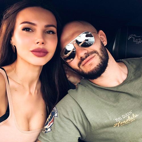 оксана с мужем