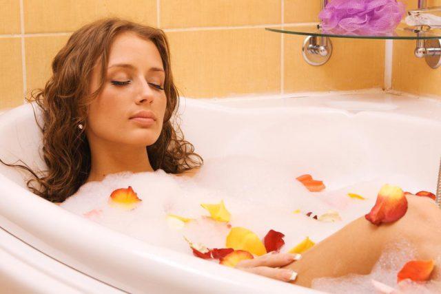 Ароматическая ванна с пеной