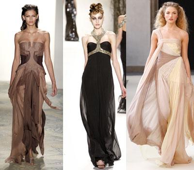 Длинные платья и юбки для стройных и высоких девушек
