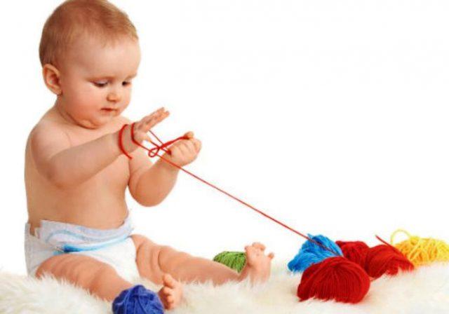 Знакомство ребенка с хранением материалов для рукоделия