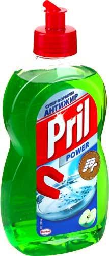 Лучшие моющие средства для посуды pril power gel