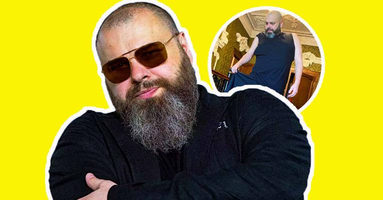 Максим Фадеев похудел на 100 килограммов