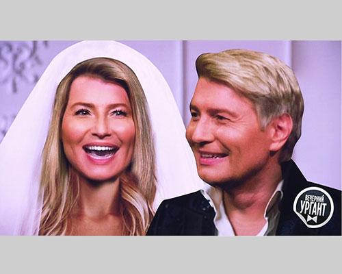 Фотография супругов Басковых была представлена на передаче «Вечерний Ургант»