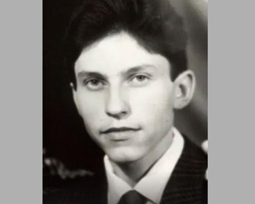 Саша Ревва в юности