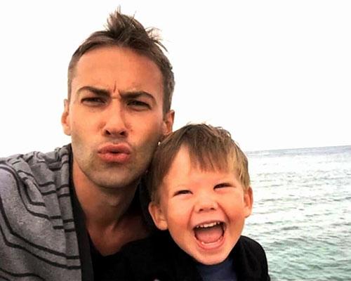 Дмитрий с сыном Платоном