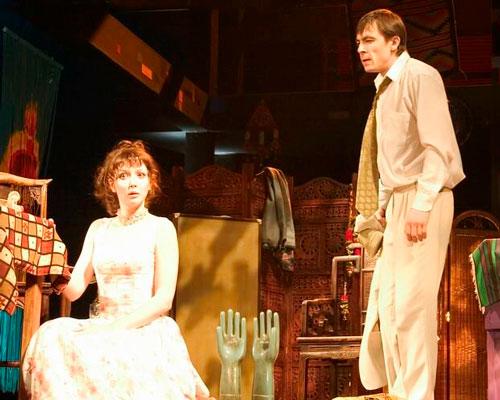 На театральной сцене ТЮЗа